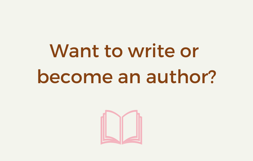 Banner Want to write or become an author (3)